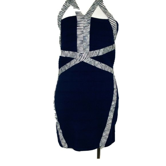 Wow Couture Sleeveless Strappy Sweater Knit Dress